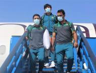 National men's cricket team arrives in Guyana for T20I series r ..