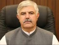 CM Mahmood Khan denounces grenade attack on police