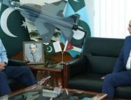 Jordanian envoy lauds PAF's rising indigenous capacity in aviatio ..