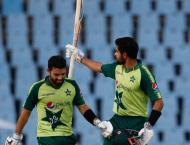Pakistan make 157-8 in second T20 against West Indies