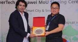 Huawei and Enertech Pakistan signed MoU to develop an Eco-Friendly Smart Tourist Destinations