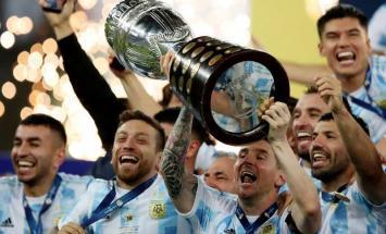 الأرجنتين تفوز على البرازيل وتتوج بلقب ..