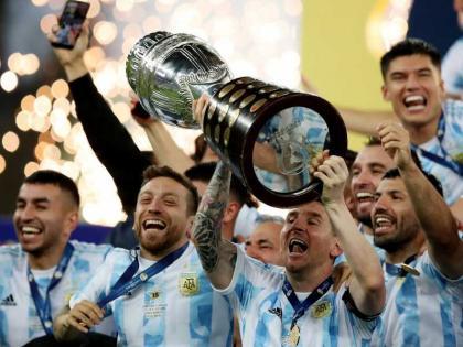 """الأرجنتين تفوز على البرازيل وتتوج بلقب """"كوبا أمريكا"""""""
