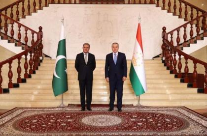 FM Qureshi, Tajik counterpart review bilateral ties