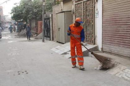 WSSP sets up model street to promote sanitation