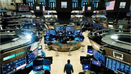 Stocks edge lower on jump in US consumer prices