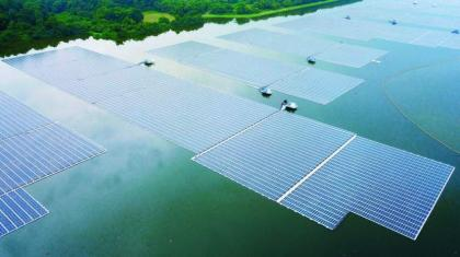 Singapore unveils one of world's biggest floating solar farms