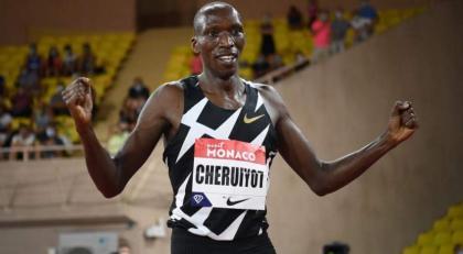 Kenyan 1500m star Cheruiyot called up to Olympic squad