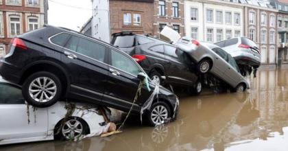 Belgium asks residents to quit Liege's flood-threatened riverfront