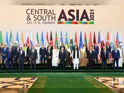 UAE participates in 'Central and South Asia Conference' in Uzbekistan