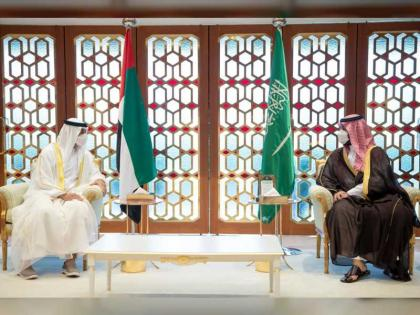 Mohamed bin Zayed, Saudi Crown Prince discuss bilateral ties and regional issues