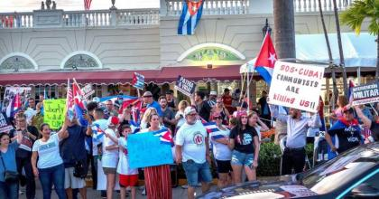 US, Several Other Countries Condemn Arrests of Protesters in Cuba in Joint Statement