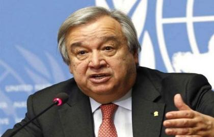 UN chief calls for unitedly tackling growing hunger,  poor nutrition