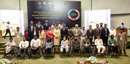 NUST-developed assistive technologies displayed at Pakistan's 1st Technology for Inclusion Summit