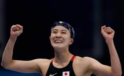 Japan's Yui Ohashi wins women's Olympic 200m individual medley