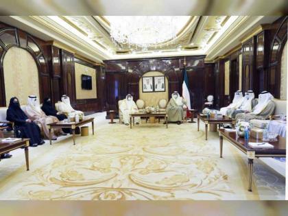 Kuwaiti PM receives FNC delegtion