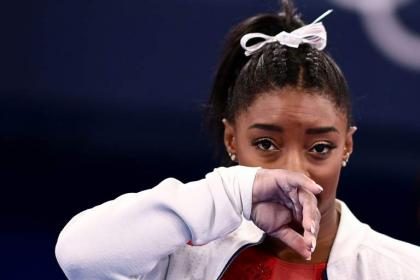 Biles in second pull-out as mental struggles laid bare at Tokyo Olympics