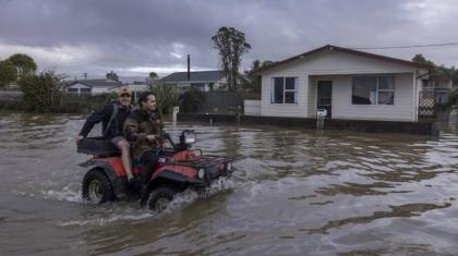 New Zealand records largest flood flow in almost century