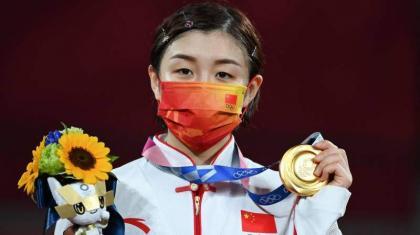 China's Chen hits back at critics after winning Tokyo table tennis gold