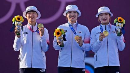 South Korea's San An Wins Archery Olympics Gold, Russian Elena Osipova Claims Silver Medal