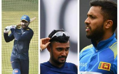 Sri Lanka bans three Test players for one year over covid breach