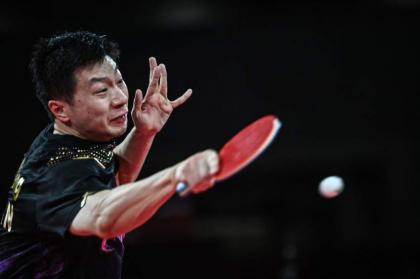 China's 'Dictator' Ma Long retains Olympic table tennis crown