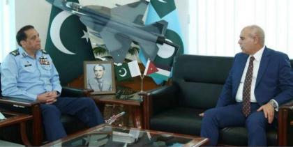 Jordanian envoy lauds PAF's rising indigenous capacity in aviation industry