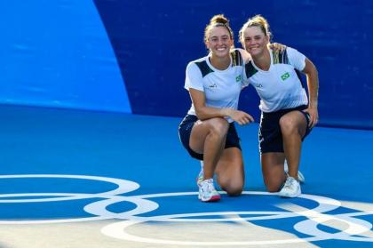 Pigossi and Stefani claim Brazil's first Olympic tennis medal