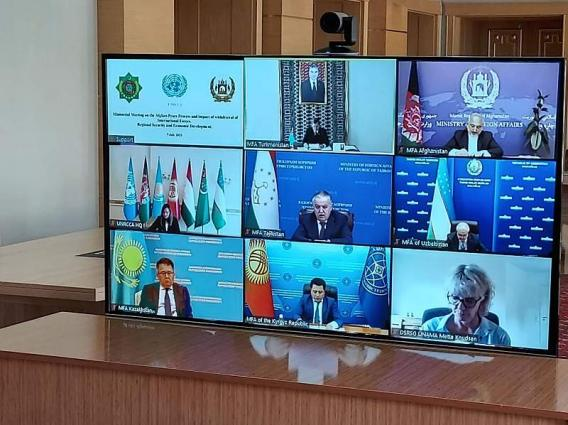 The states of Central Asia will continue rendering assistance to Afghanistan in cooperation with the UN
