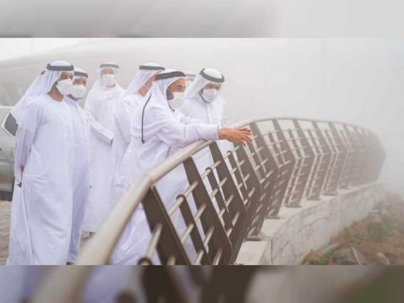Sharjah Ruler inaugurates Al Suhub Rest Area in Khorfakkan