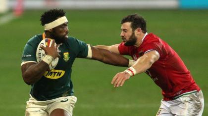 RugbyU: 2nd Test - South Africa 27 British and Irish Lions 9