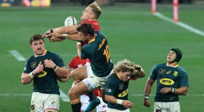Springboks beat Lions 27-9 to level series ahead of final Test