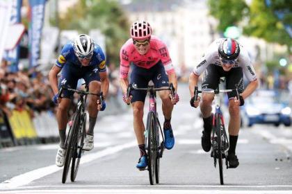 American Powless wins San Sebastian cycling classic