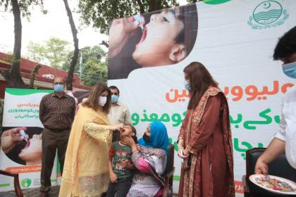 Anti-polio drive begins in different districts today
