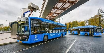 Moscow to Fully Switch to Electric Buses by 2025 - Trade Minister