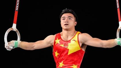 China's Liu wins gymnastics rings gold at Olympics
