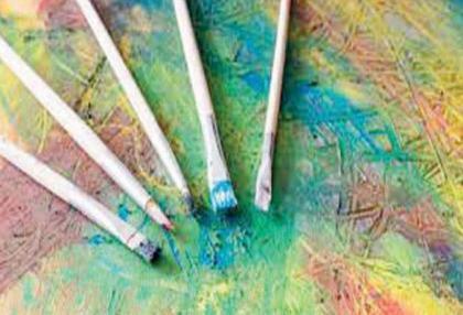 Two-week kids' painting classes in full swing at Hunerkada