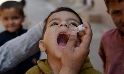 National Polio campaign starts in  five districts of Larkana