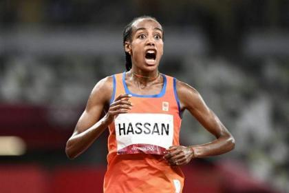 'Scared' Hassan wins Olympic 5,000m in first step in treble gold bid