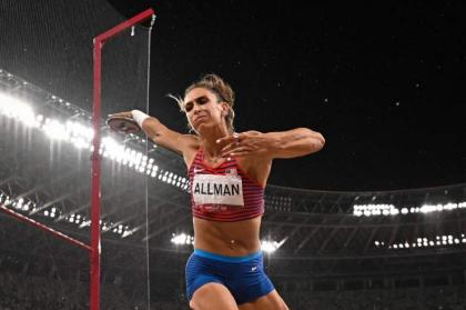 Discus star Allman gives USA much-needed Tokyo gold medal