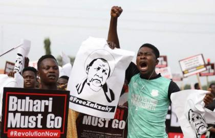 Nigeria frees 5 anti-govt protesters: lawyer
