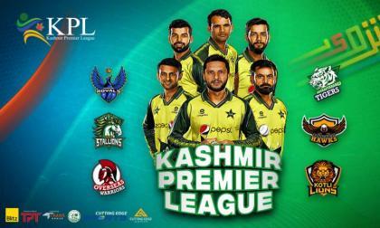 Kashmir Premier League: Online sale of tickets starts today