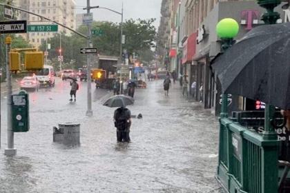 New York declares state of emergency as heavy rains wreak havoc