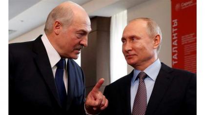 Putin, Lukashenko to Discuss Afghanistan, Russia-Belarus Relations on Thursday - Kremlin