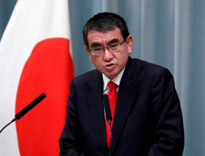 Japan's Ex-Defense Minister Taro Kono Plans to Bid for Ruling Party Leadership - Reports