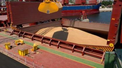 2nd TCP wheat vessel arrives at KPT