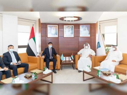 Abu Dhabi Chamber, Embassy of Kazakhstan to UAE discuss boosting trade cooperation