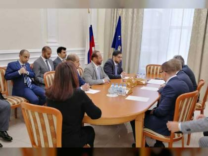 UAE Ambassador meets Moscow City Government Minister