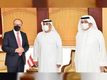 Austria's foreign minister praises UAE's experience in attracting investments