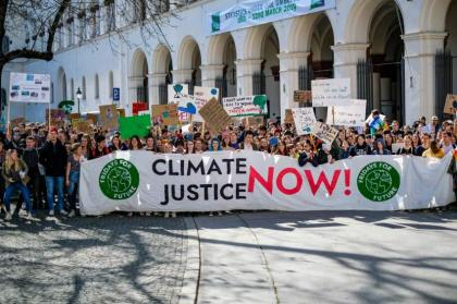Young activists take German states to court over climate